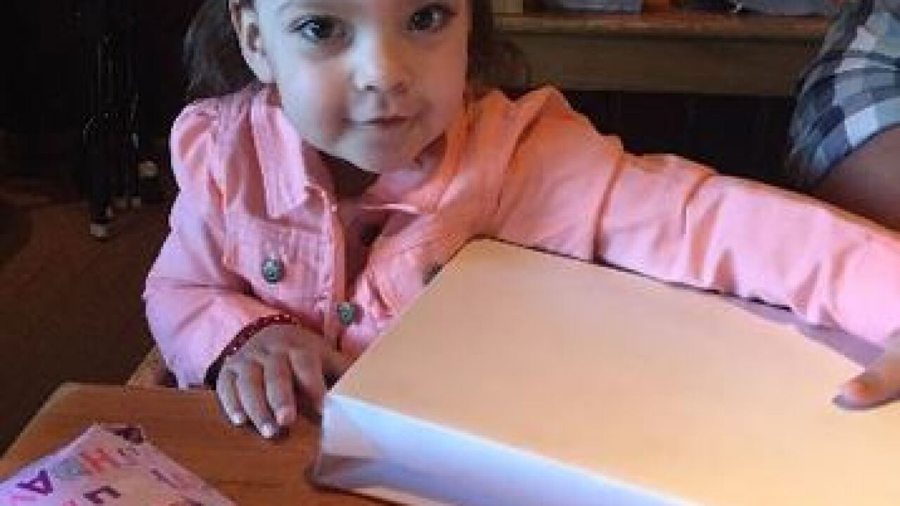 Olivia, Ofc. Kerrie Orozco's Daughter, Turns 2