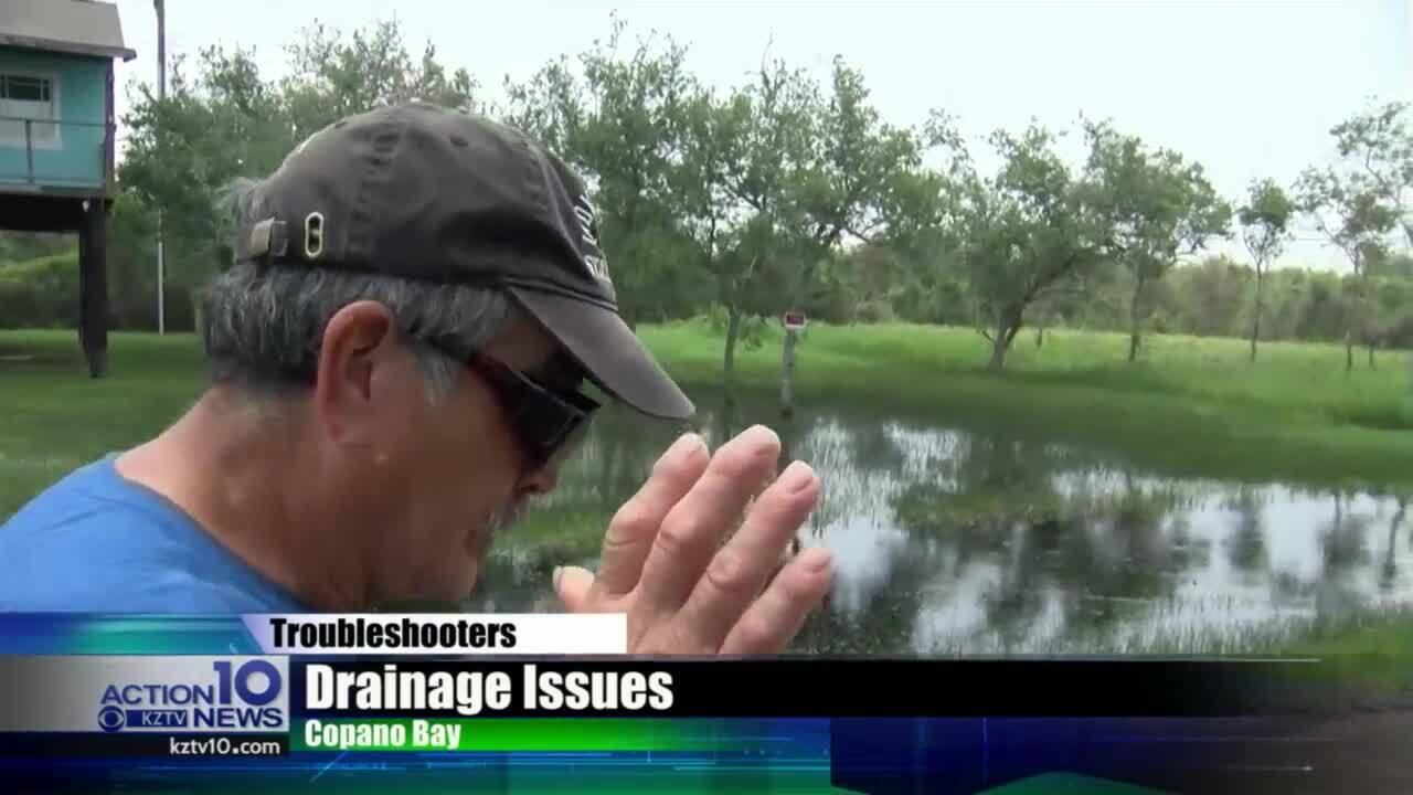 Troubleshooters: Copano Bay residents want answers after recent flooding in the area