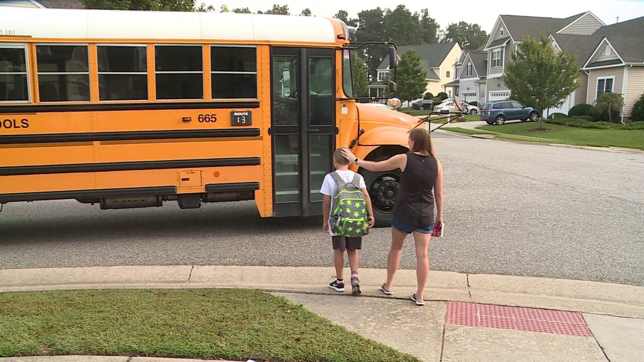 Parent starts petition to revisit school start times amid Chesterfield school bus issues
