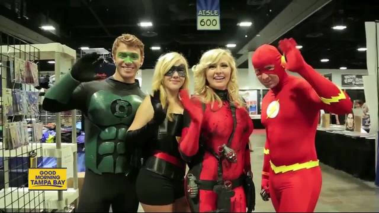 Grab the cape! Tampa Bay Comic Con opens for the weekend