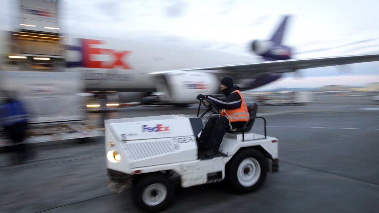 Pilot injured after FedEx plane makes emergency landing at LAX