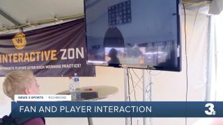 Washington Football Team fan interactive zone
