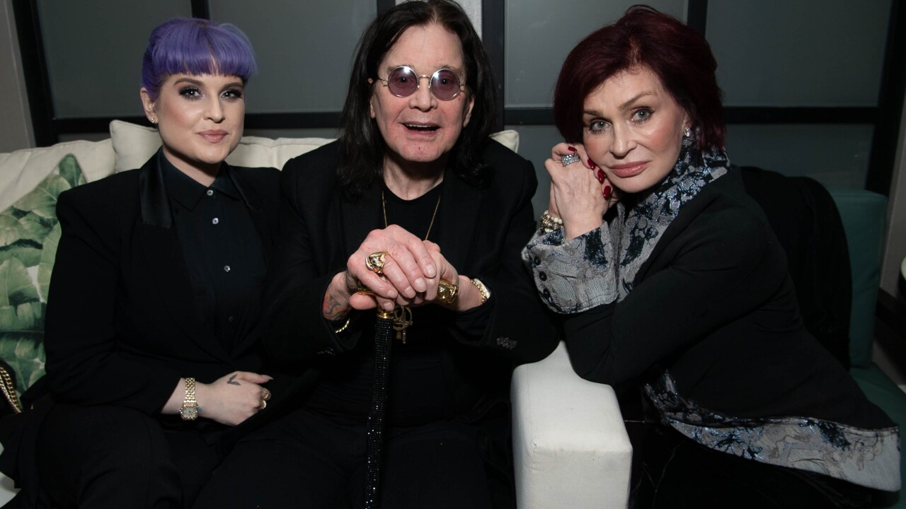 Ozzy Osbourne reveals he's been diagnosed with Parkinson's disease
