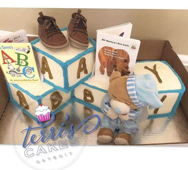 Terri's Cakes Detroit Baby Cake
