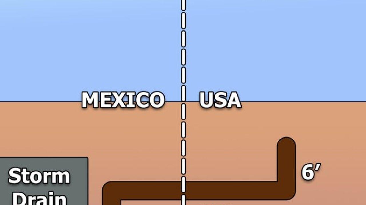 Nogales bordern tunnel map.jpg