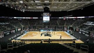 Breslin Center Iowa Michigan St Basketball