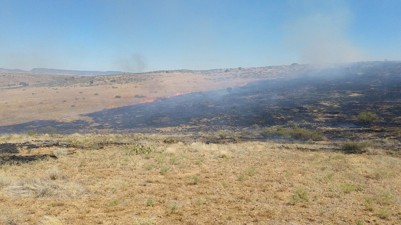KNXV Orme Fire Burned Area