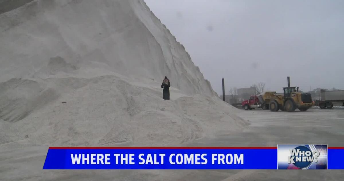 Who Knew? Where the salt comes from