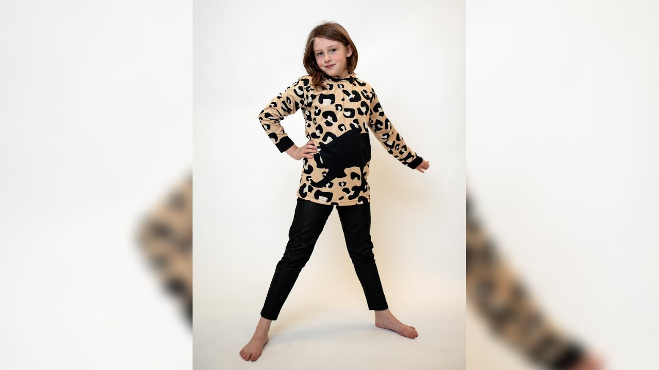 9-year-old girl with autism creates clothing line to save endangered animals