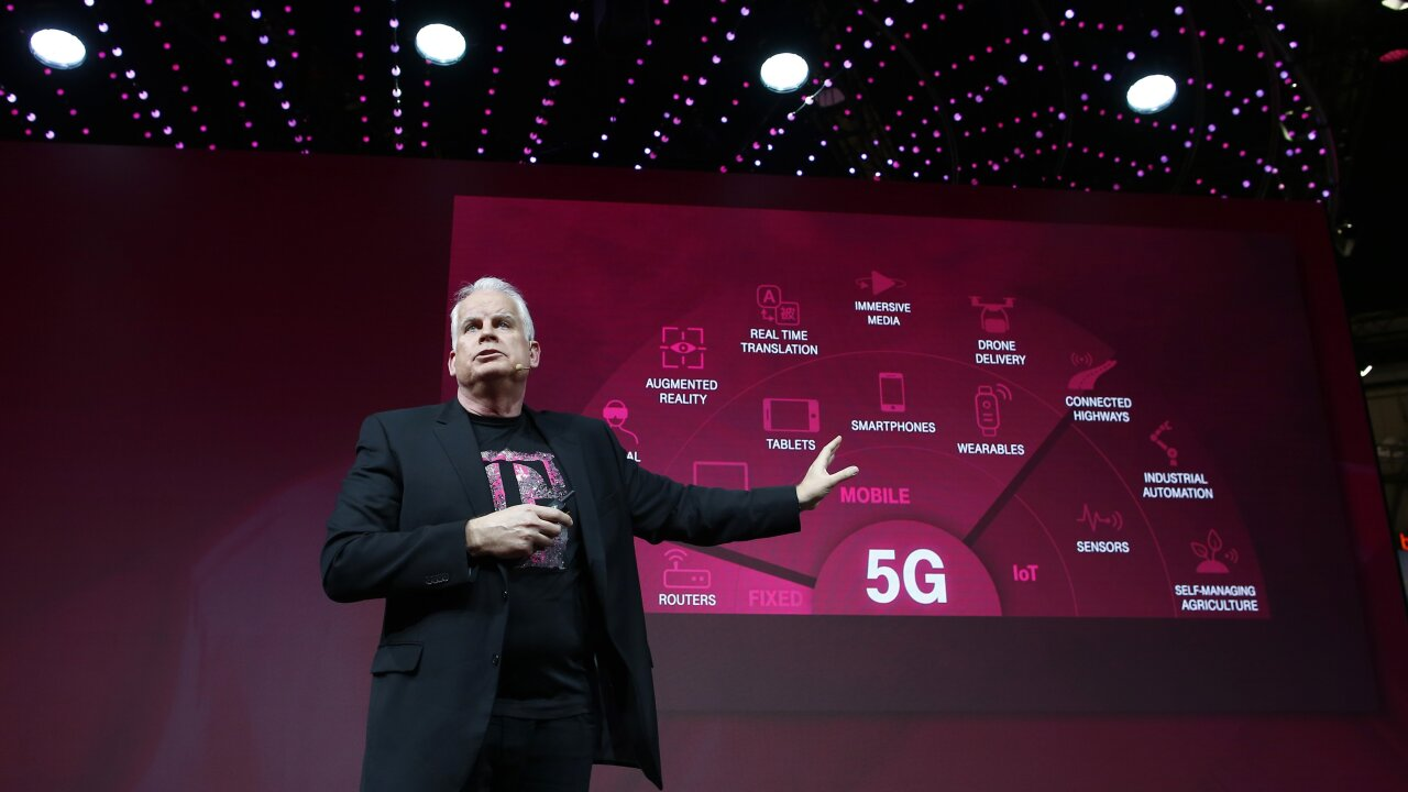 T-Mobile launches 5G nationwide. Here's what that means