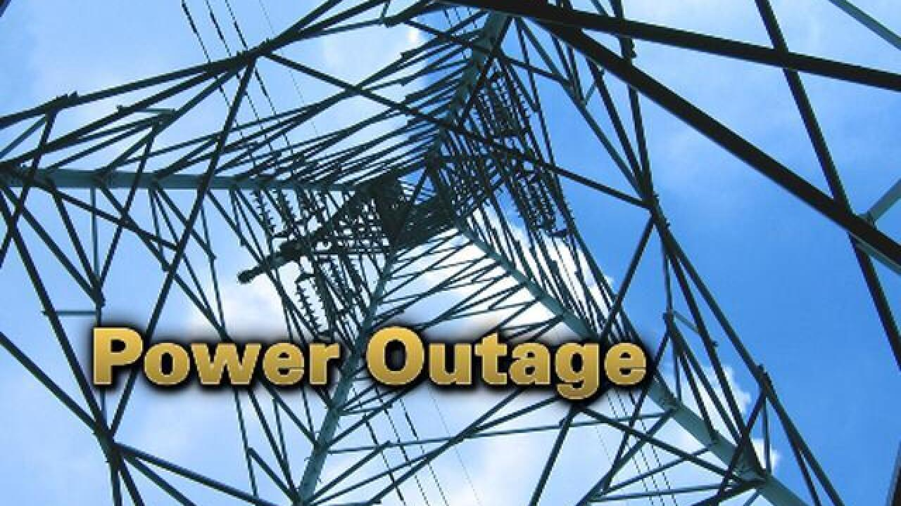 92,000 people without power in metro area