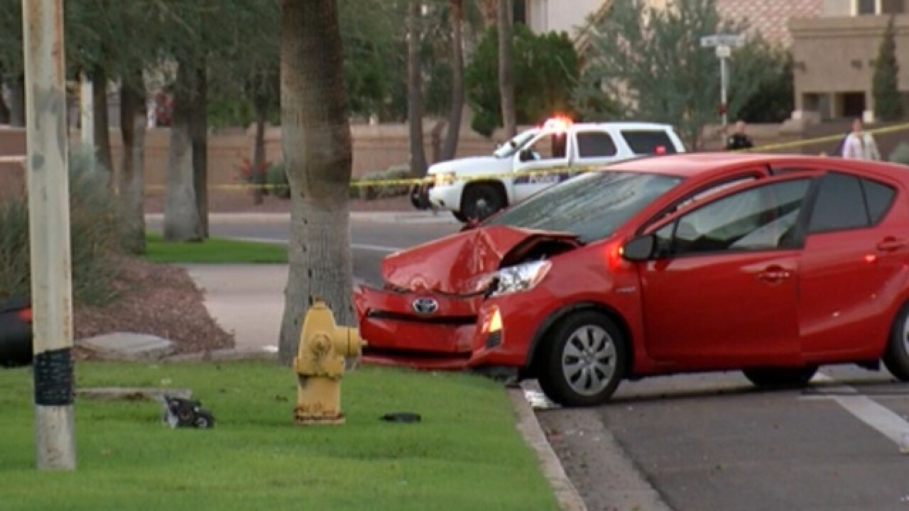 Jogger hit by car in Ahwatukee neighborhood