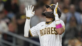 Giants Padres Baseball
