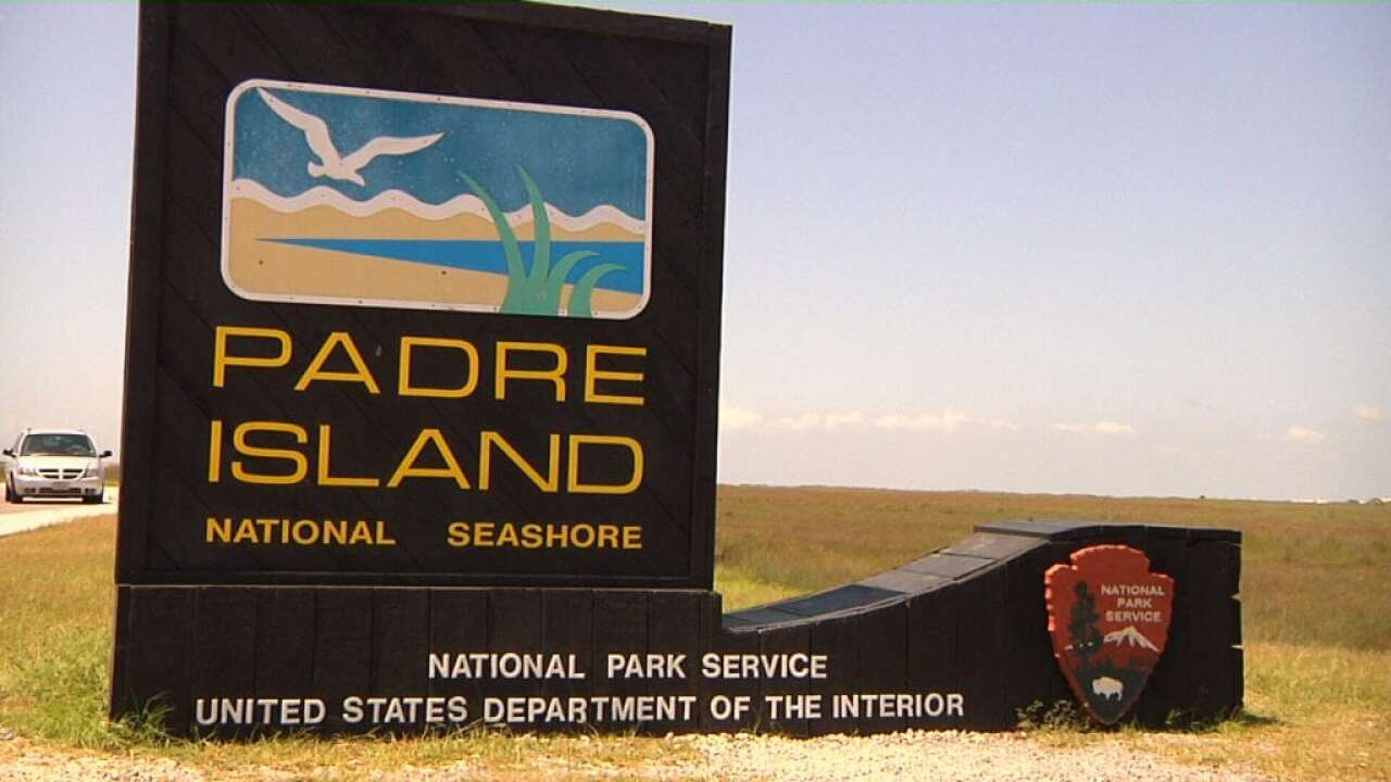 Padre Island National Seashore park closing off vehicle access