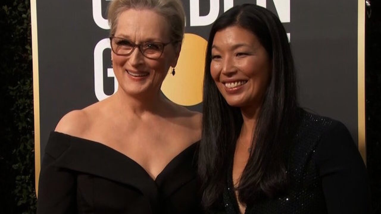 A-list actresses bring activists to Golden Globes red carpet