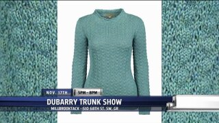 Millbrook Tack brings alpaca sweaters and leather boots for Casual Friday