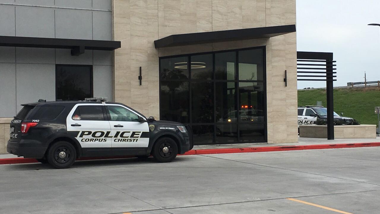 Bank robbery at Kleberg Bank