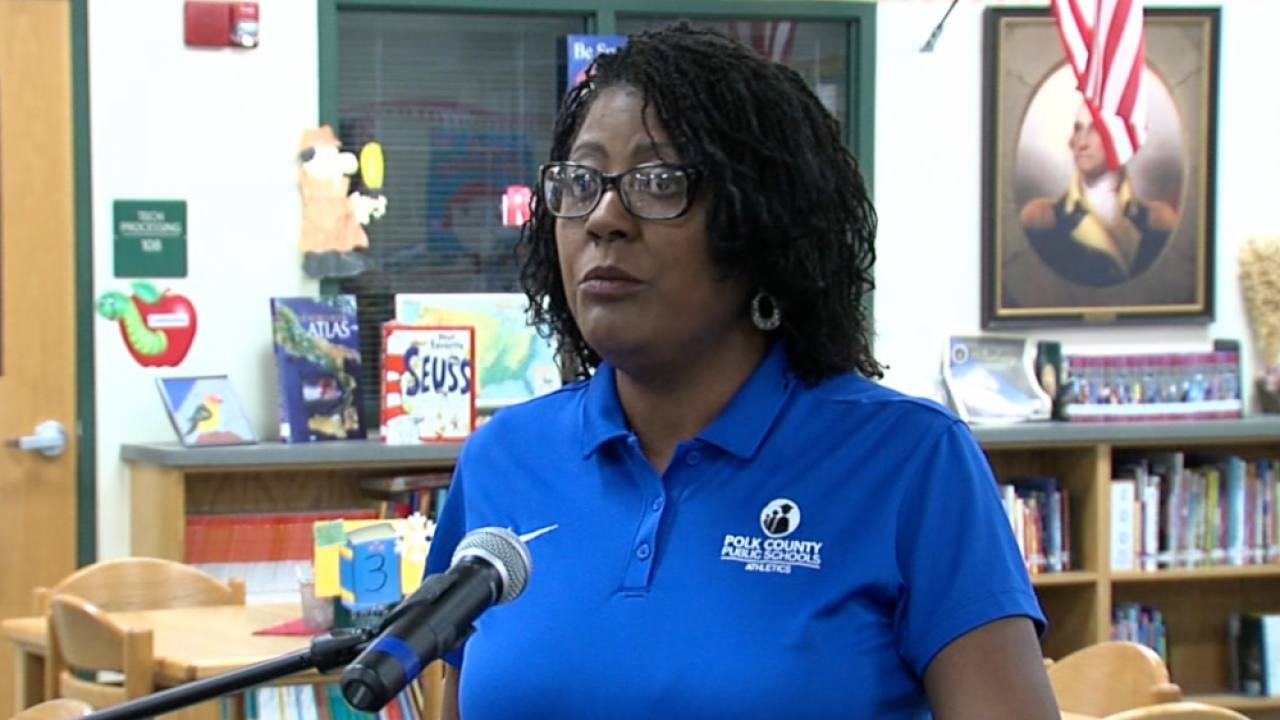 Polk County School District Superintendent Jacqueline Byrd