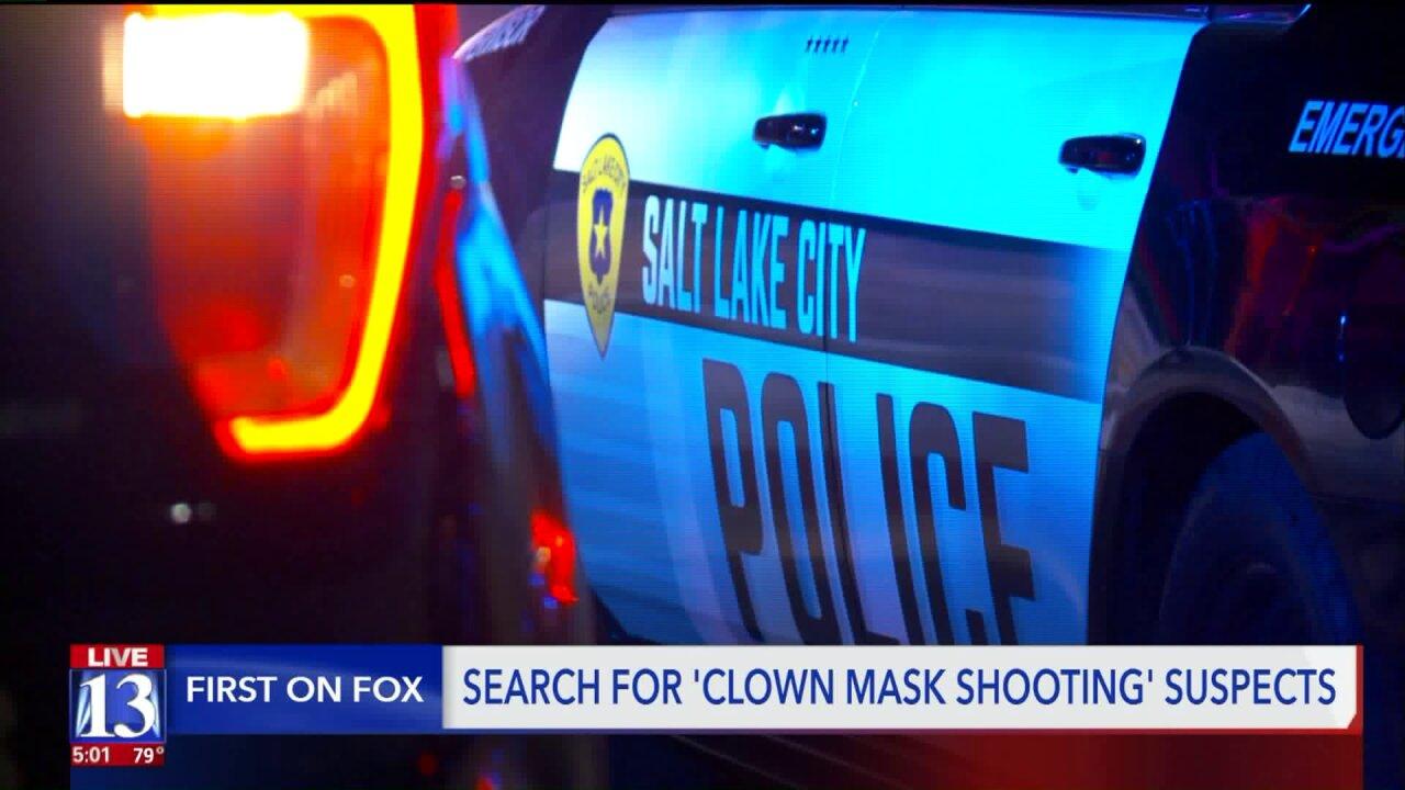 Burglars in clown masks shoved grandma down stairs, shot son-in-law, traumatizedkids