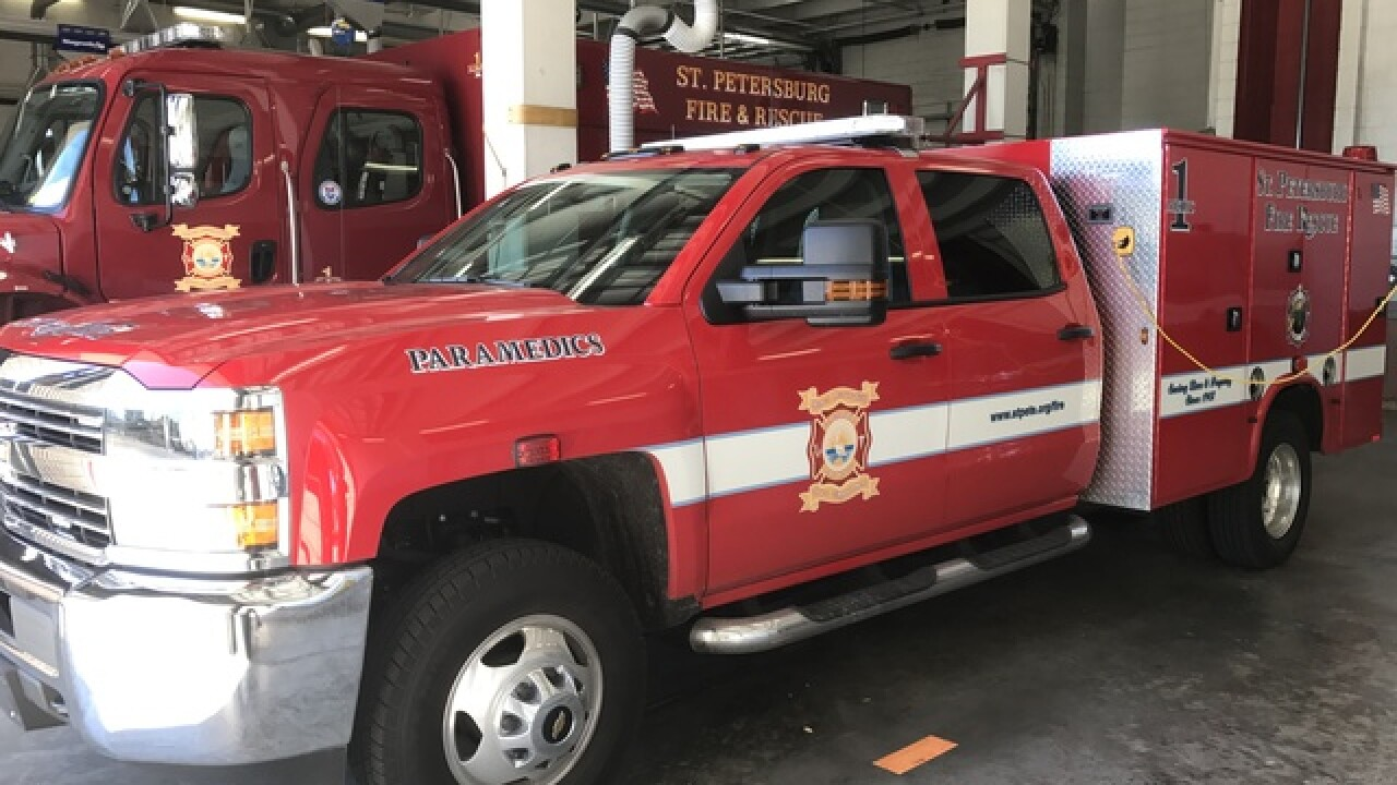 St  Pete Fire Dept  looking to improve response times after slip