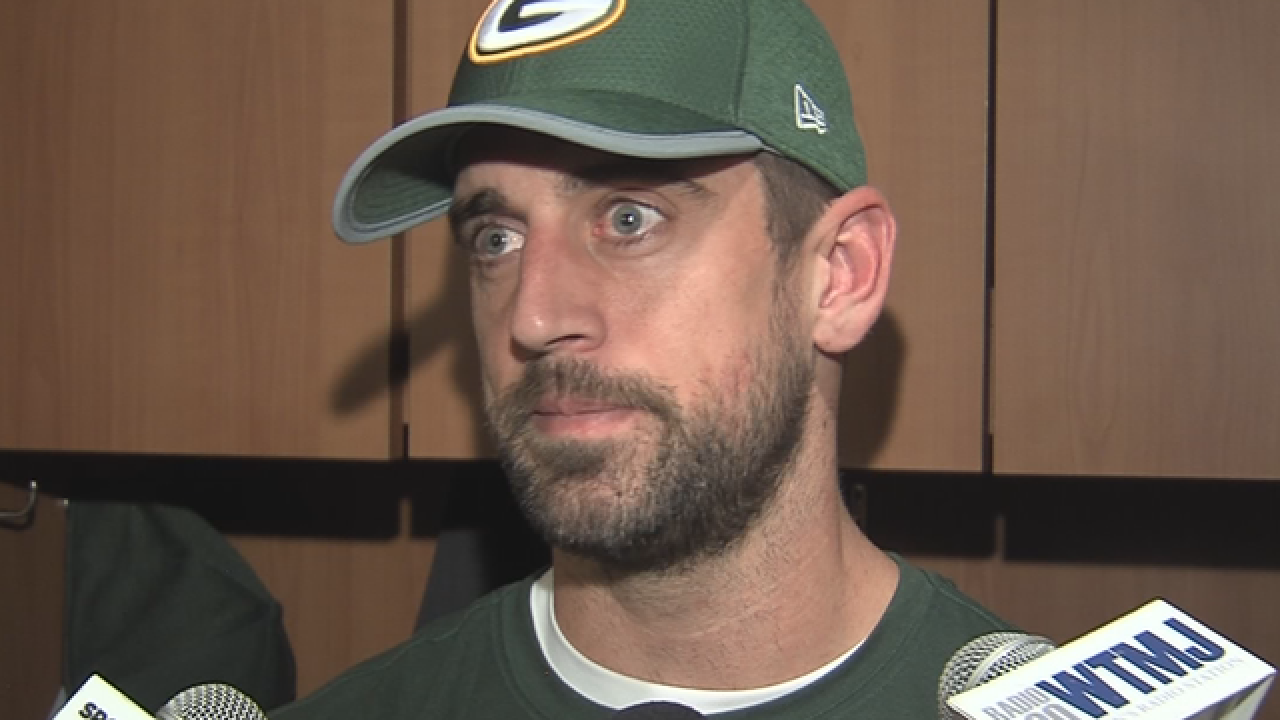 Rodgers on Las Vegas shooting: 'We have to make some changes in society'