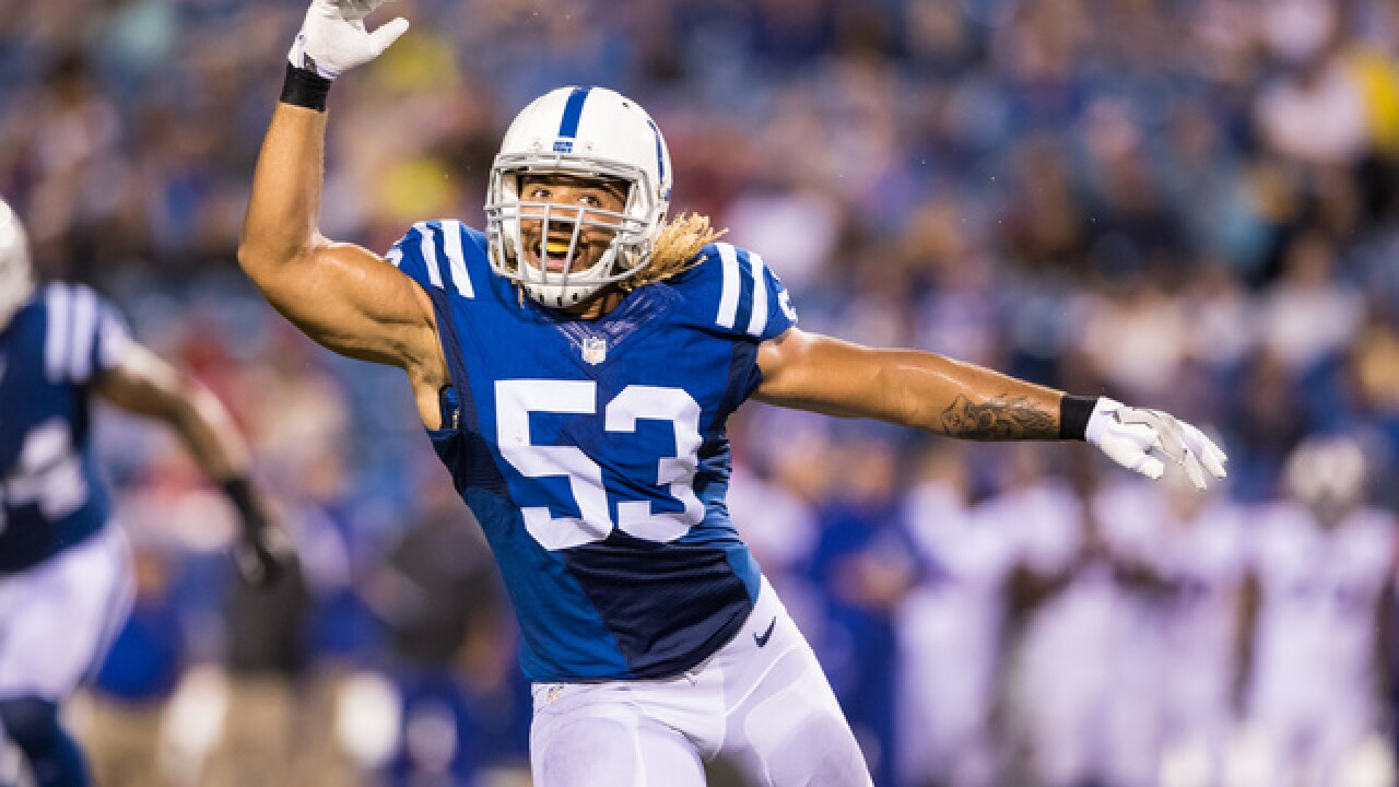 Colts LB killed by alleged drunk driver