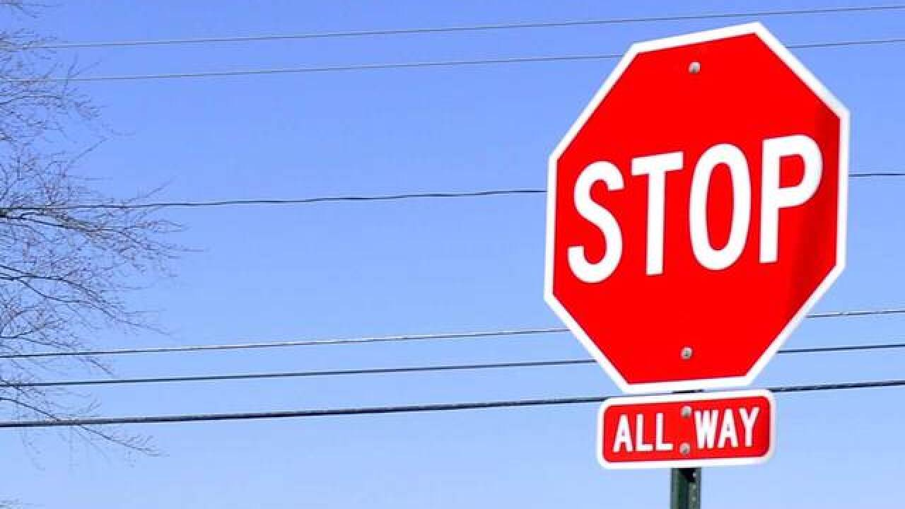 Rural T-intersection in Weld County getting stop signs