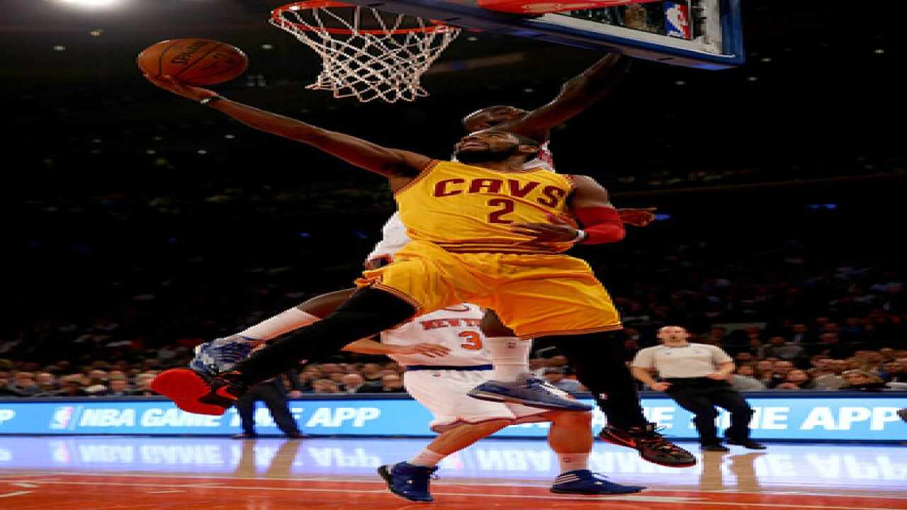 Irving, Shumpert close to returning to Cavaliers