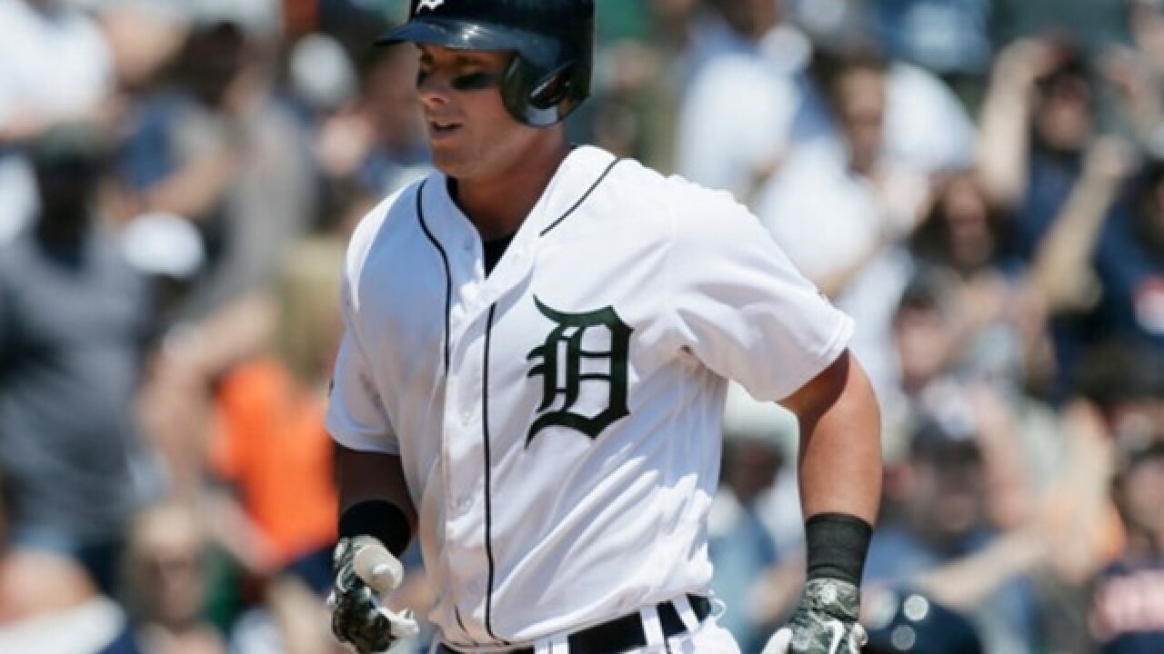 James McCann's grand slam lifts Tigers win over Angels