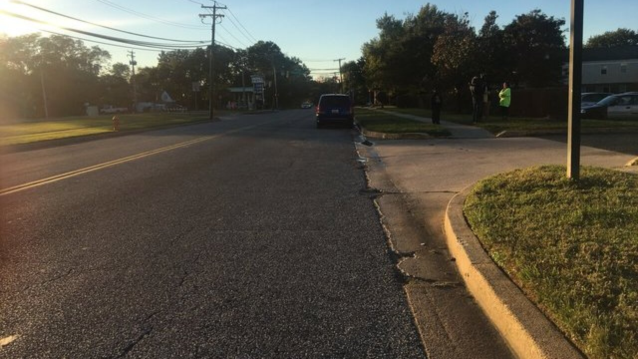 7 y/o girl struck in driveway in Essex