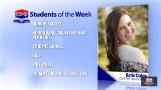 Students of the Week: Nolan Nansel and Katie Dahle of Colstrip High School