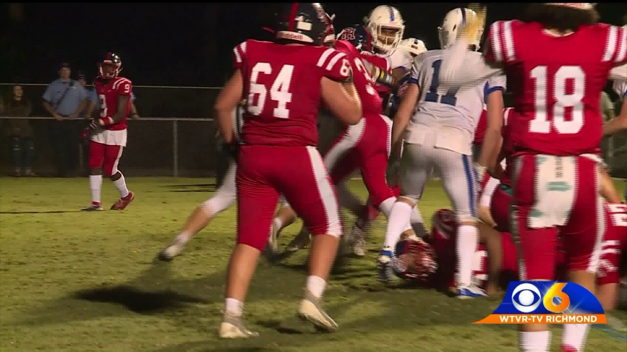 Deep Run slips past Patrick Henry to stayundefeated
