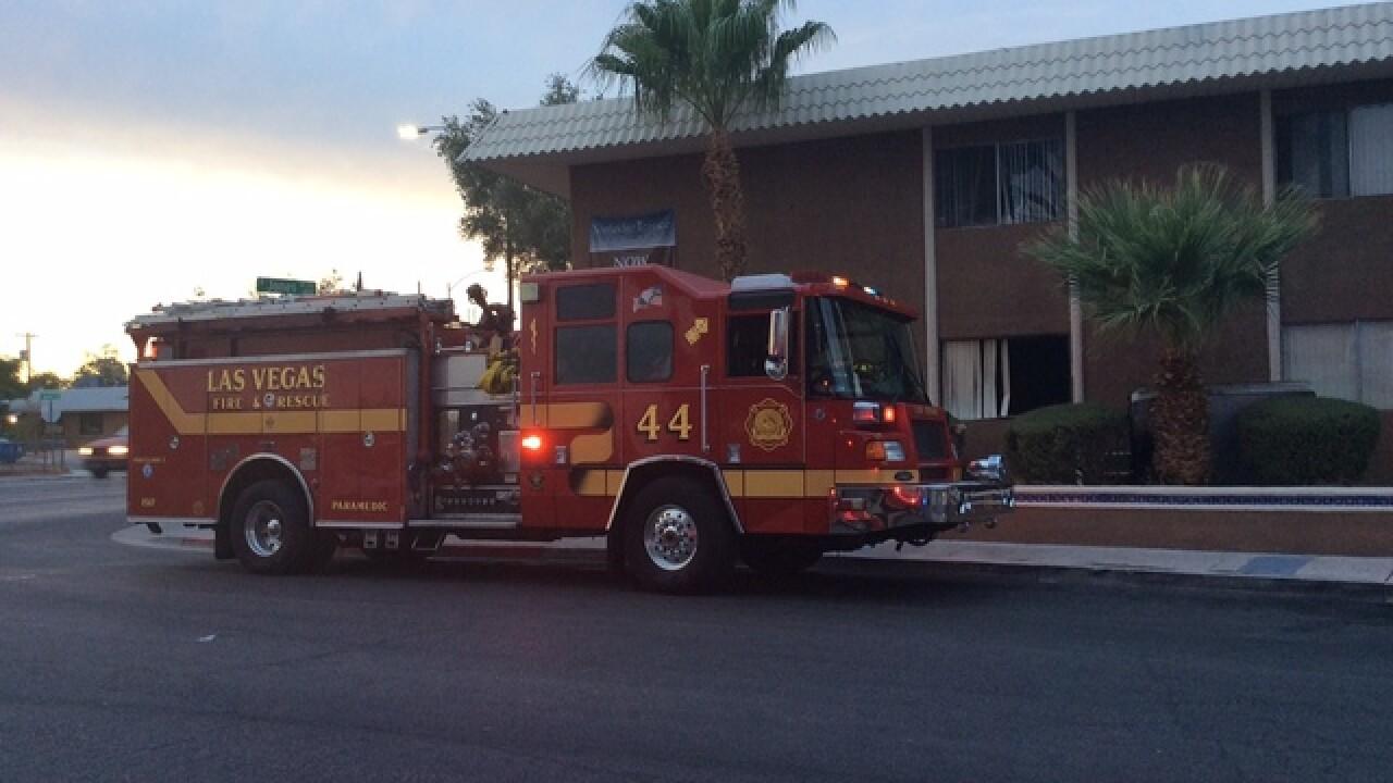 Mattress found smoldering in apartment fire