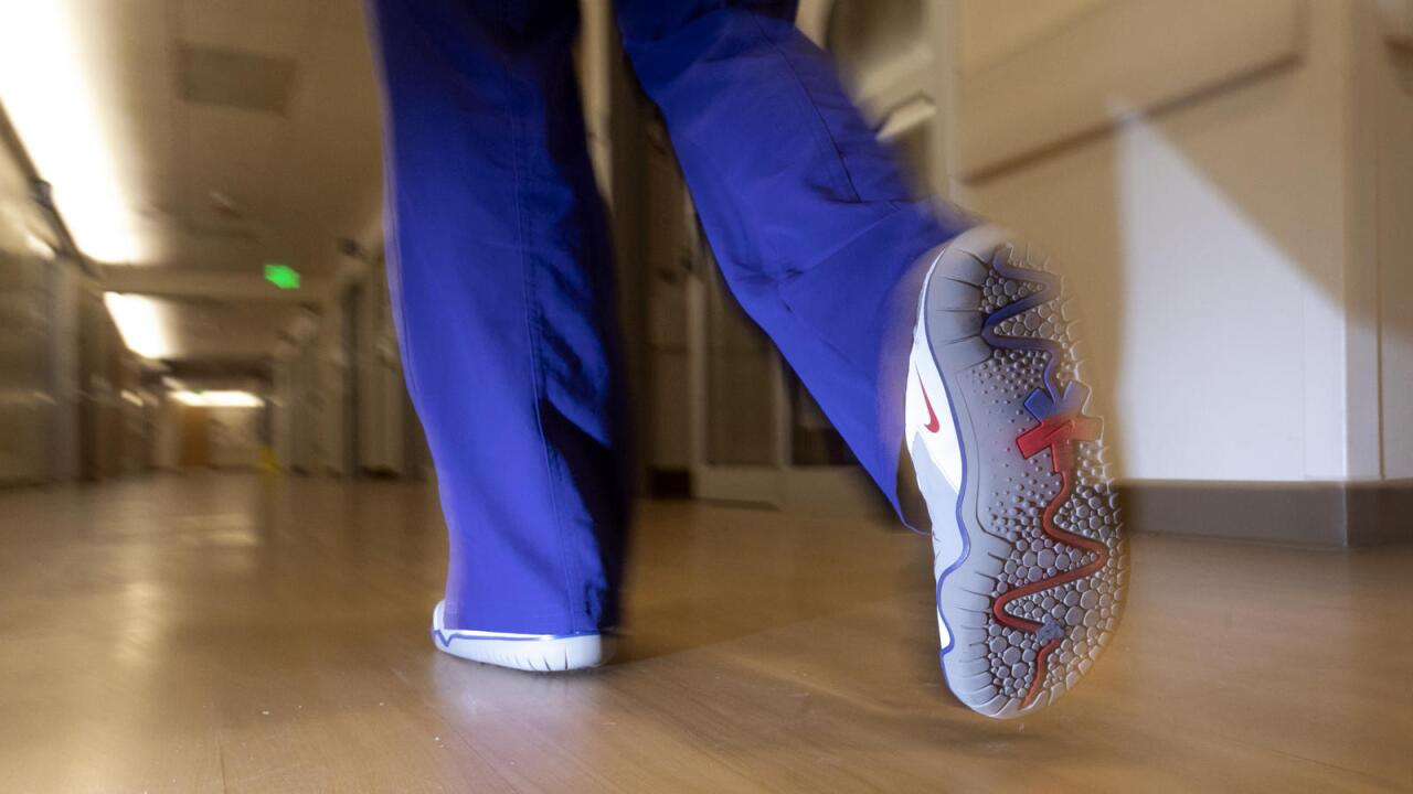 Nike donating 30,000 shoes to front-line healthcare workers