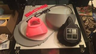 3D printed face masks.JPG
