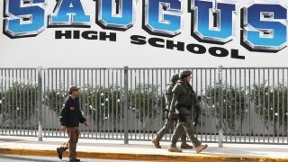 Suspect in California school shooting died from self-inflicted wound