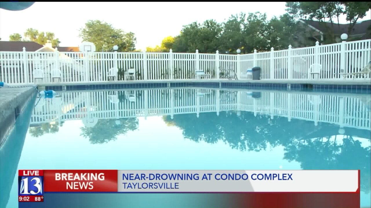 6-year-old in extremely critical condition after near drowning in Taylorsville