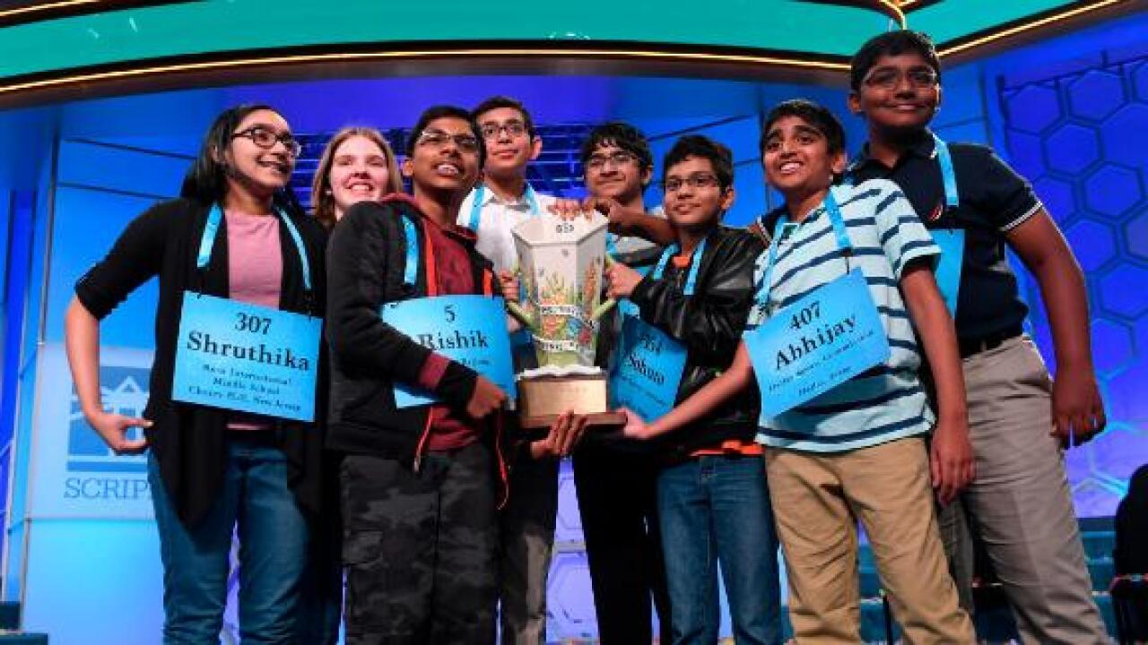 Elite 8: The National Spelling Bee has not one — but 8 champions