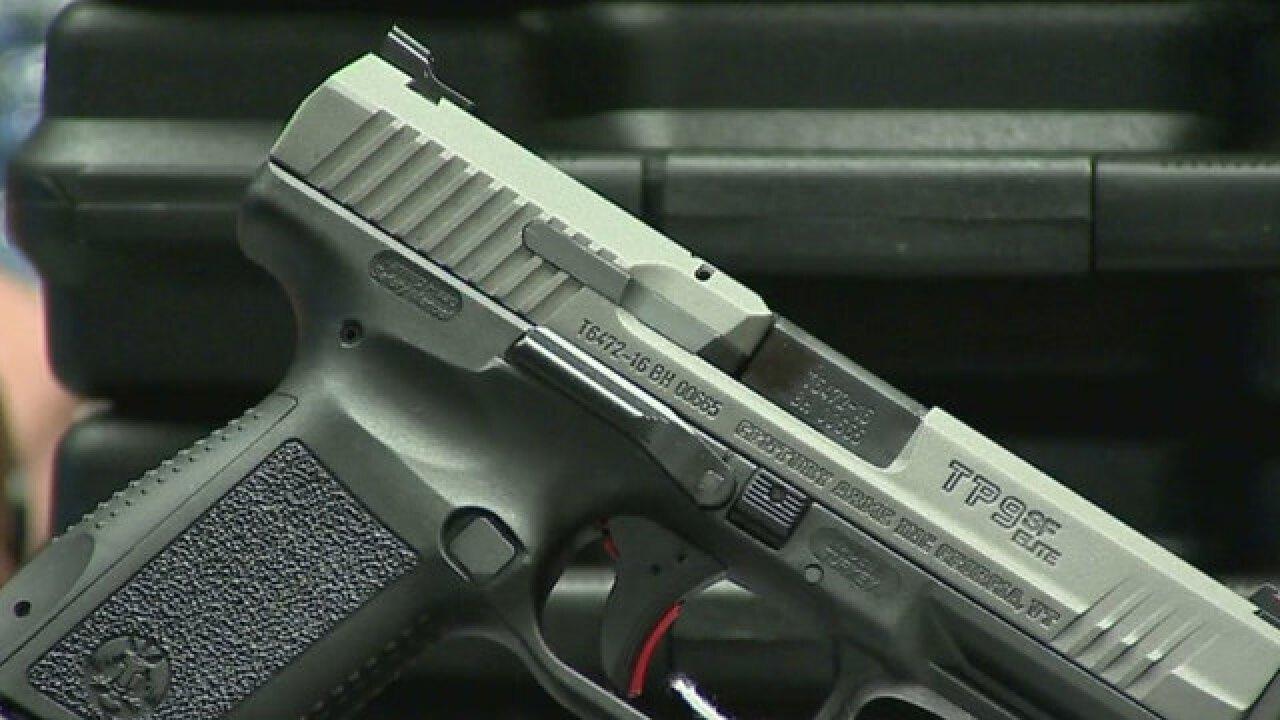 Elementary Student Brings Gun To School