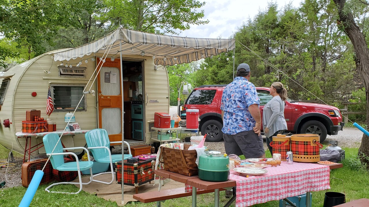 4th annual Vintage Trailer Rally in Three Forks
