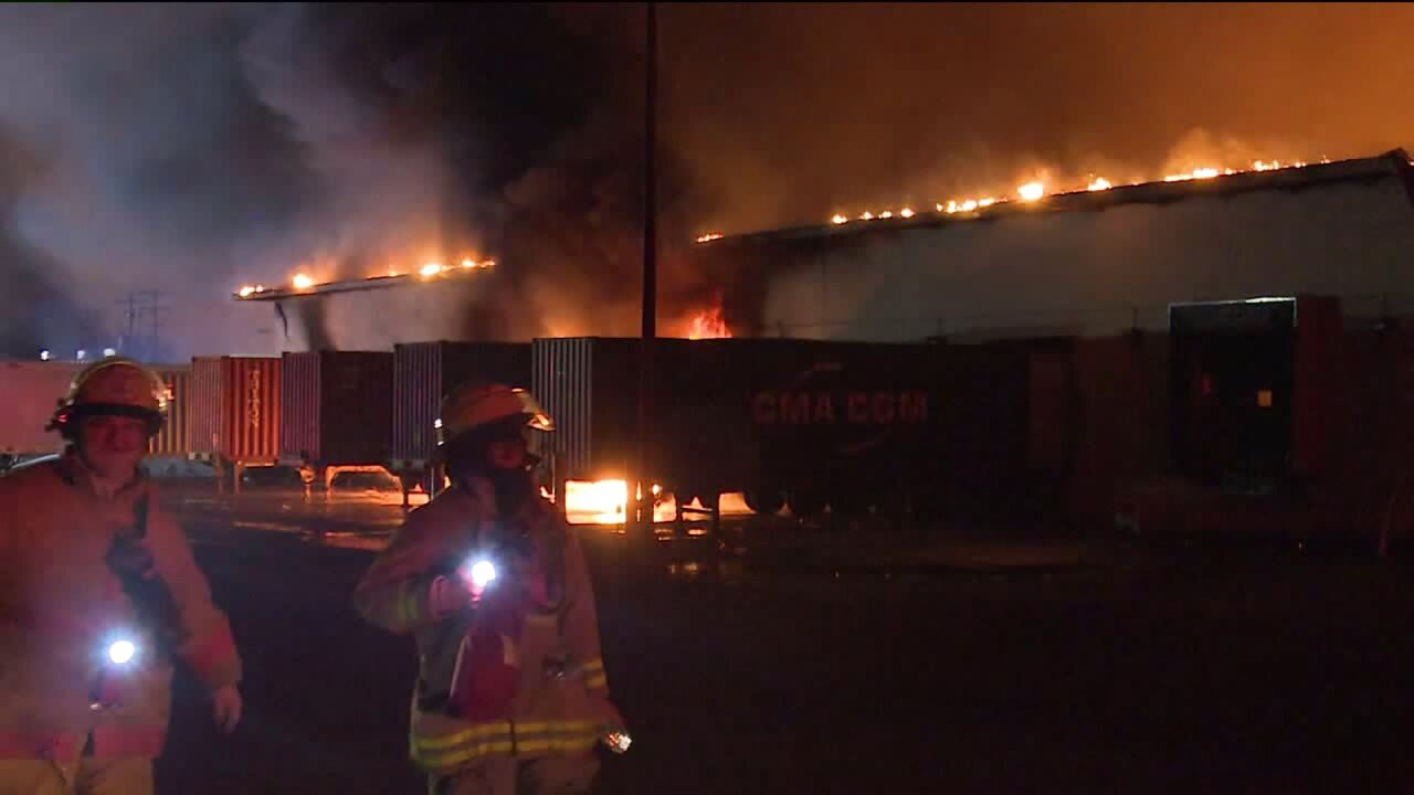 Montcalm automotive plant fire