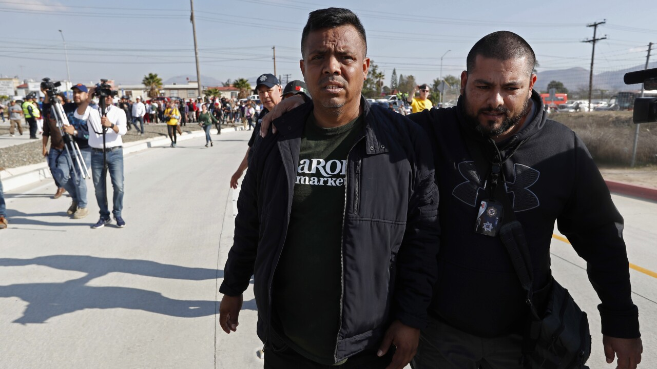 Migrant Caravan The Escorts