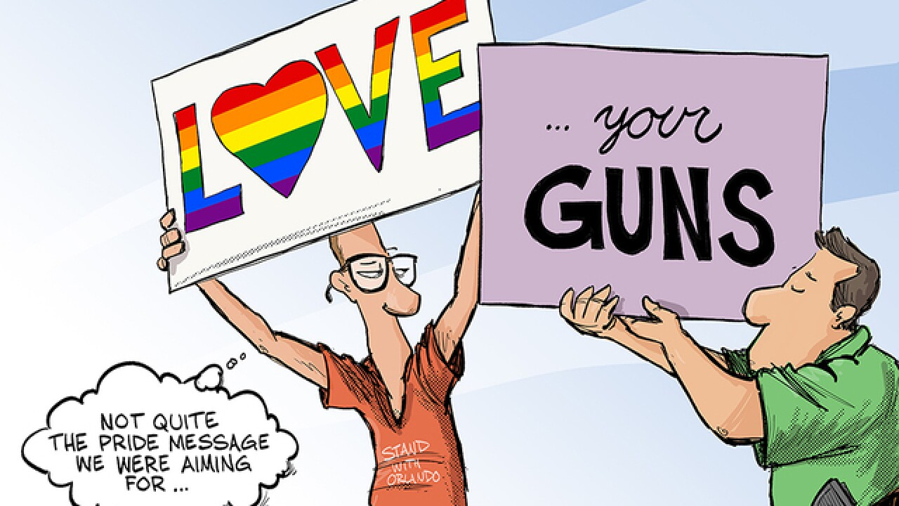 CARTOON: Not the pride everyone was expecting