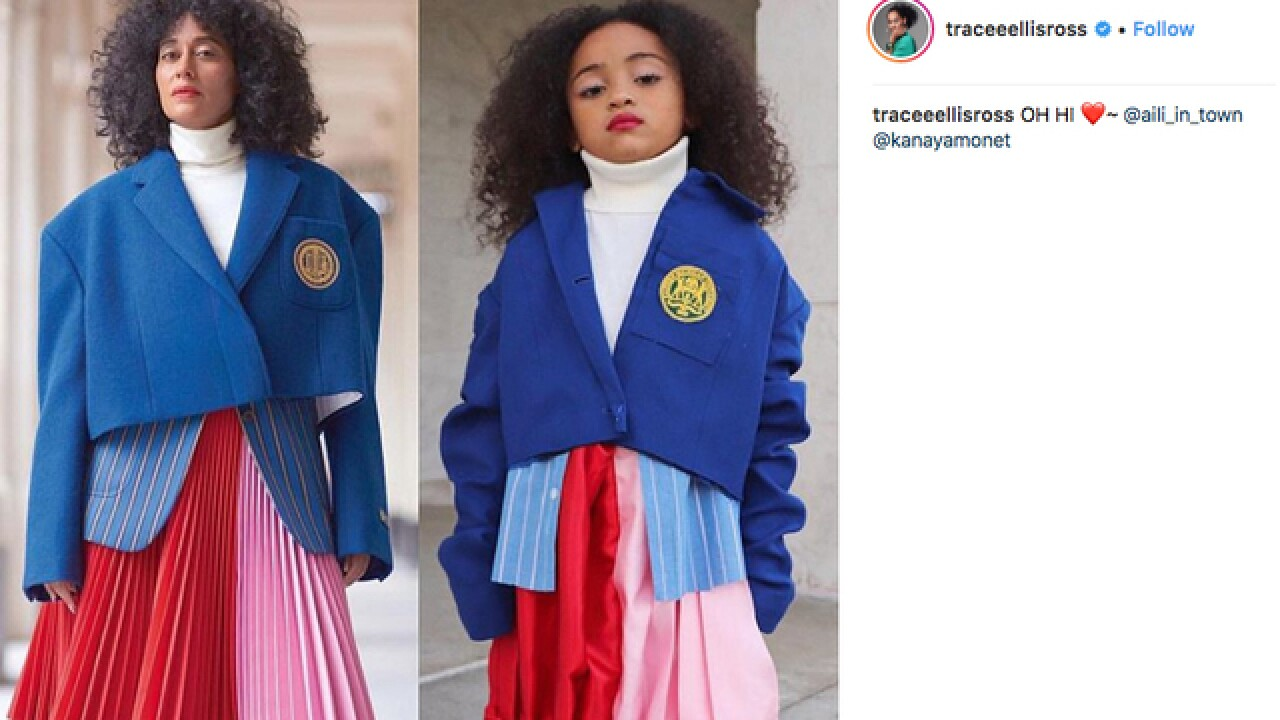 Detroit girl goes viral again for Halloween look