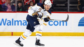 Sabres' McCabe will miss remainder of 2017-2018 season