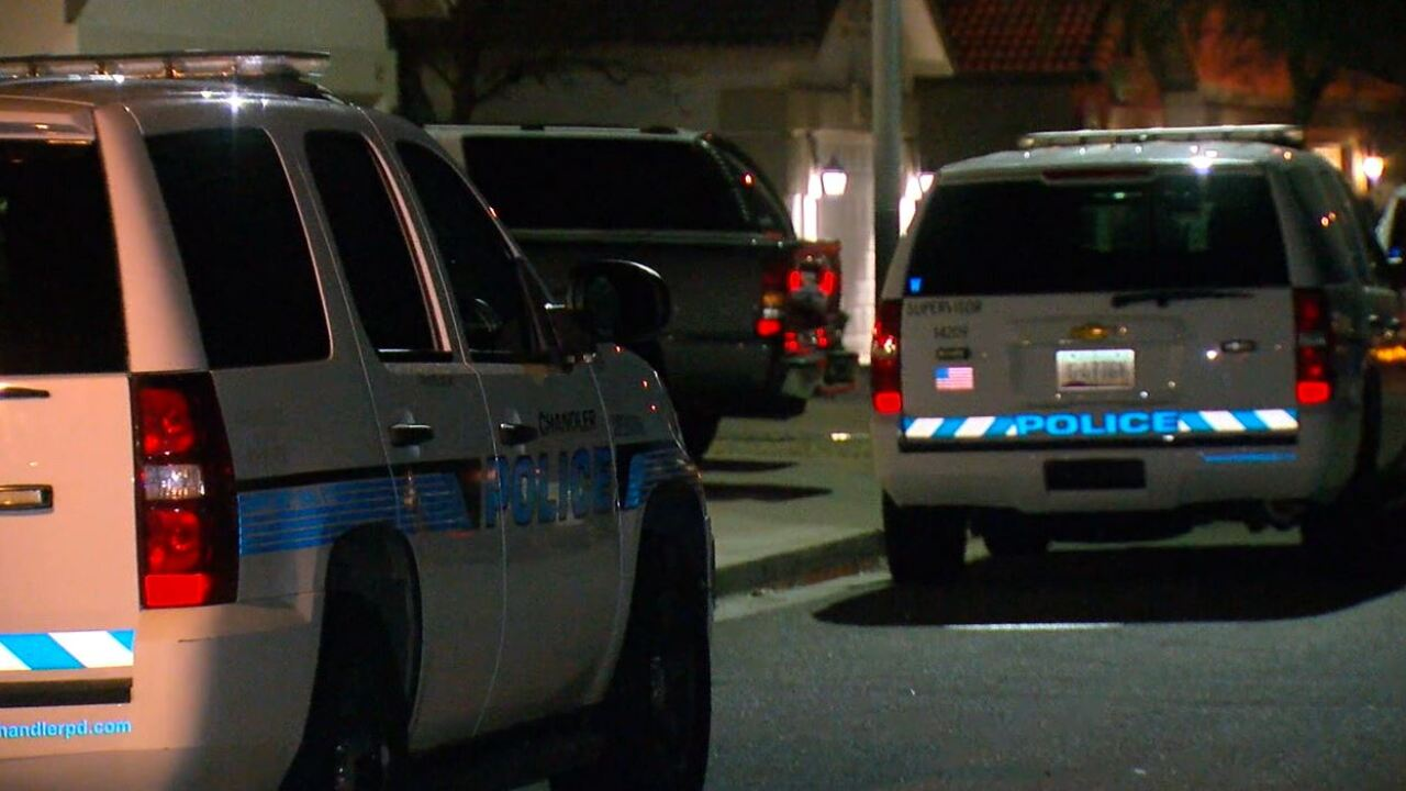 Flint Street Shooting in Chandler