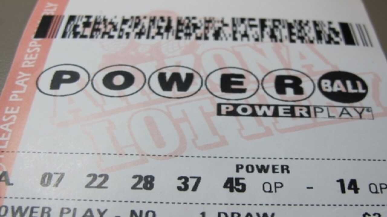 Entire state benefits if Arizonan wins Powerball