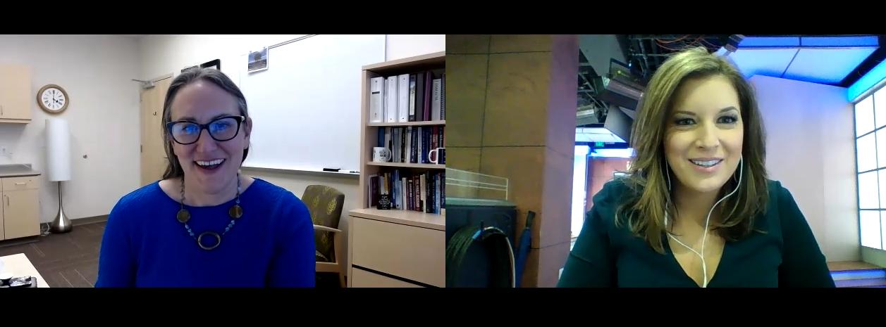 Dr. Elizabeth Wassenaar talks with News 5's Elizabeth Watts