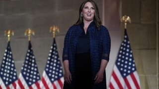 Republican National Committee chairwoman tests positive for coronavirus