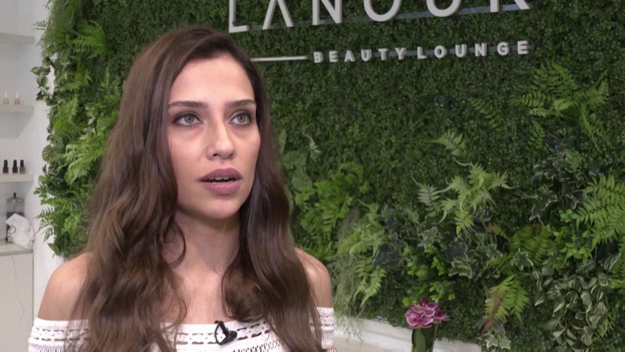 Nour Makarem, the founder of Lanour Beauty Lounge